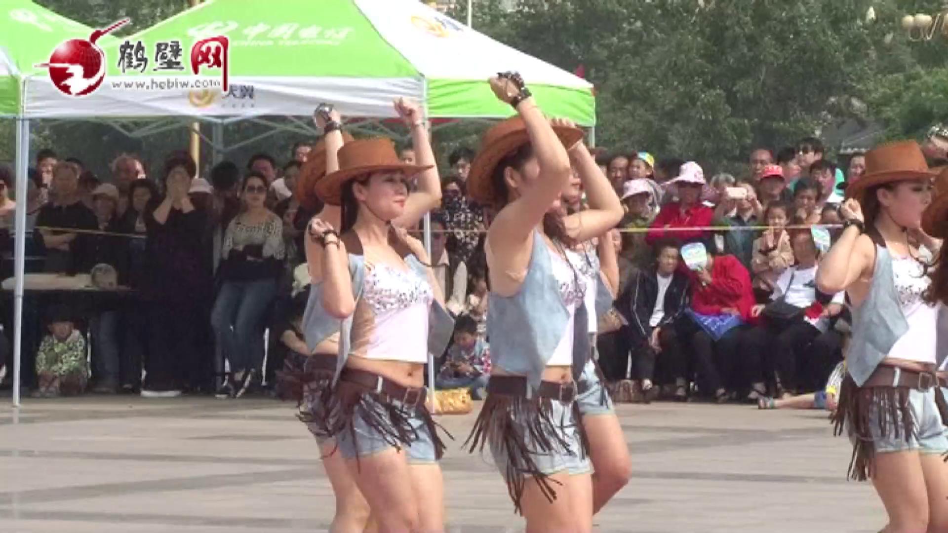 鹤壁市第二届广场舞大赛决赛昨日举行