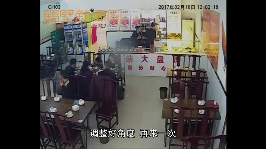 淇滨区张先生钱包被偷了!视频还原:短发小偷手法娴熟